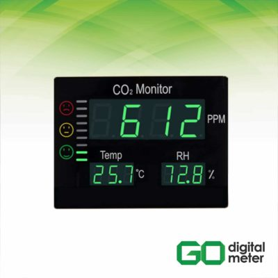 Photo of Alat Pengukur CO2 dan Temperatur Meter AMF103