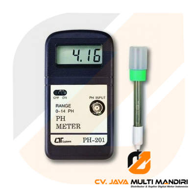 Photo of Alat Ukur pH Meter Lutron PH-201