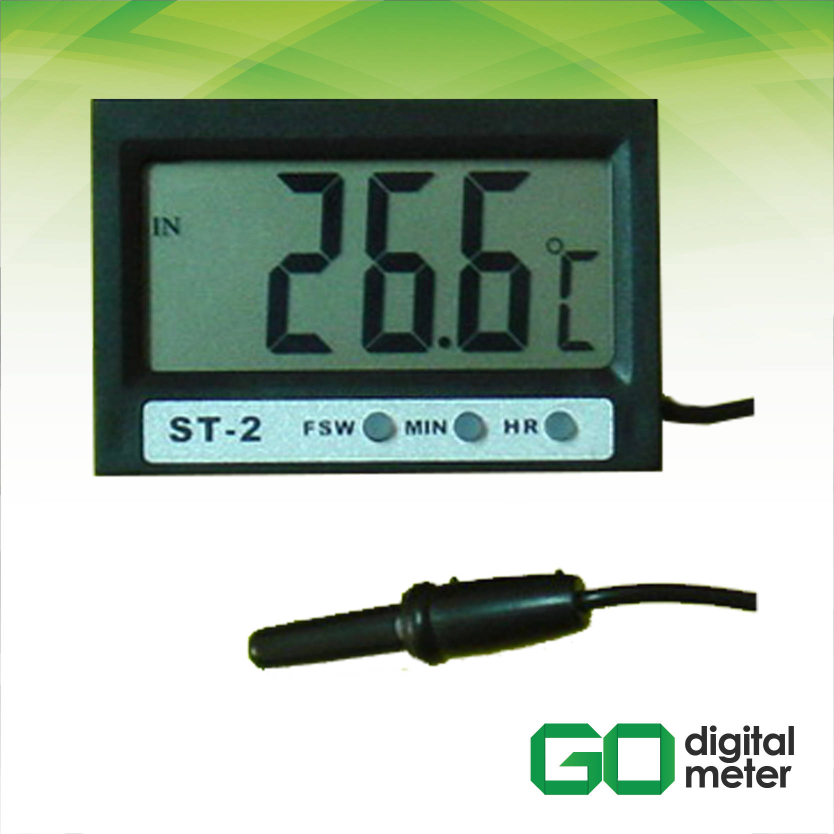 Photo of Termometer Digital IN-OUT Ekstra LCD AMTAST ST-2