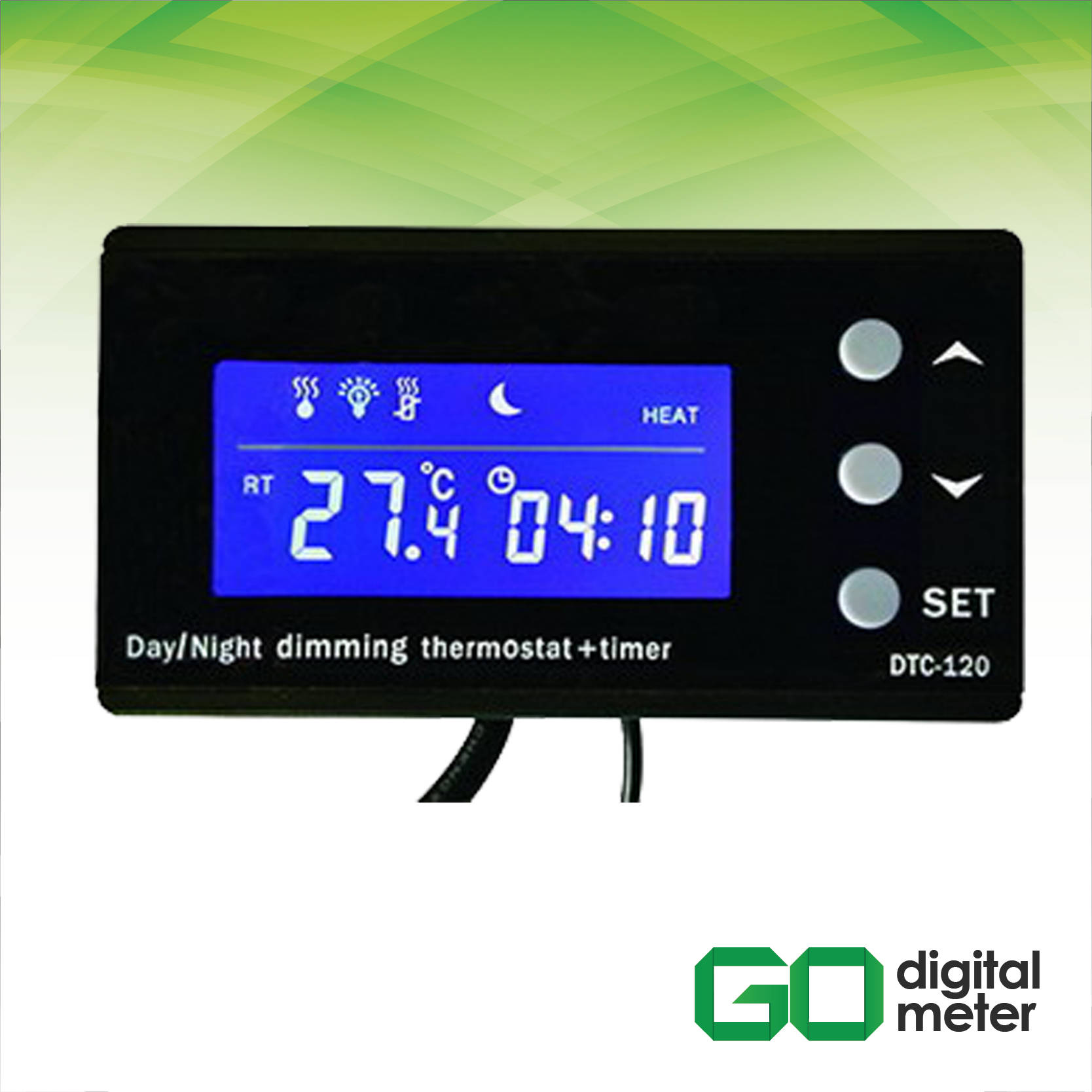 Photo of Thermostat and Timer Aquarium Reptile DTC-120