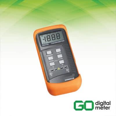 Photo of Termometer Digital dengan 2 K-TYPE AMTAST DM6802B